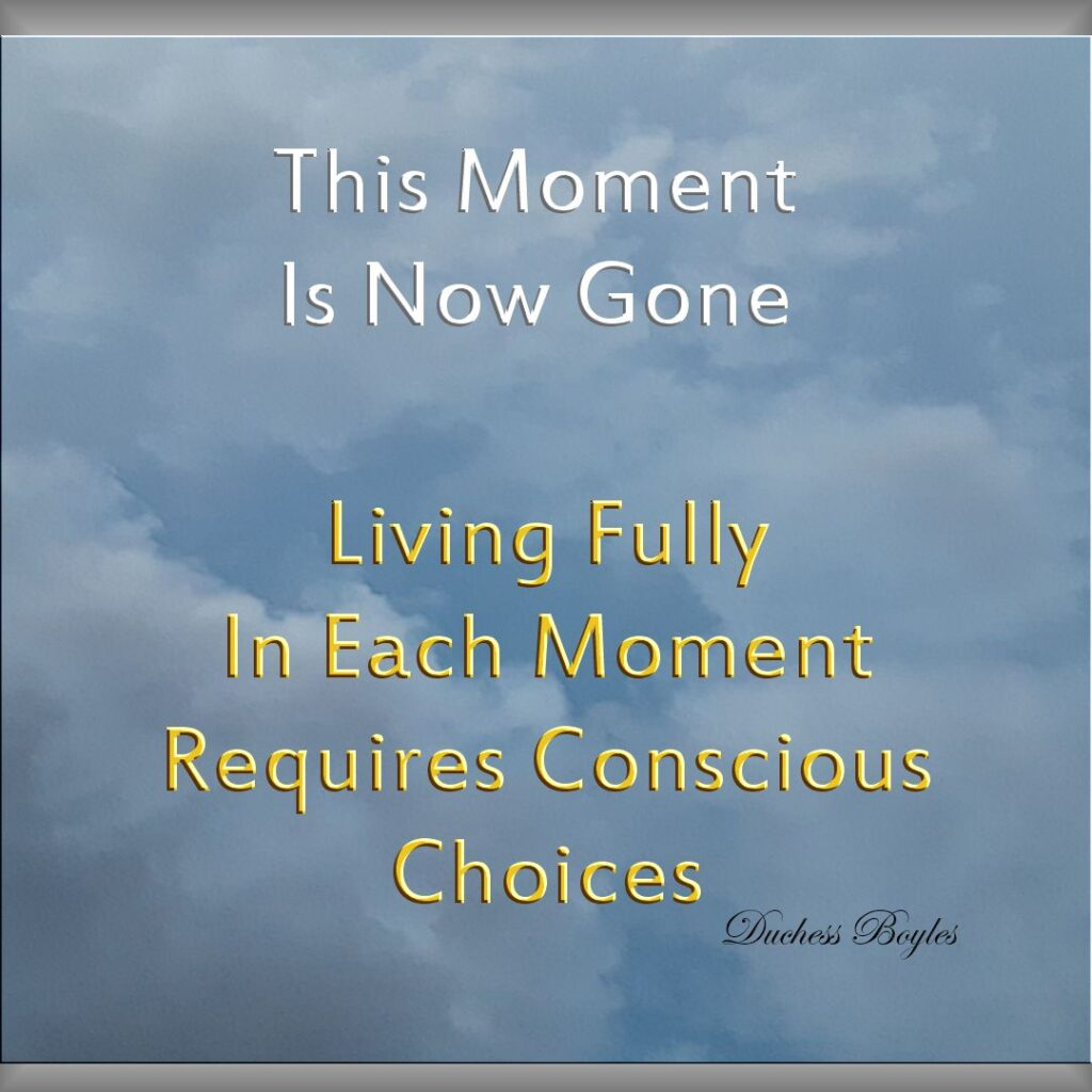 Create Your Life with Conscious Intention